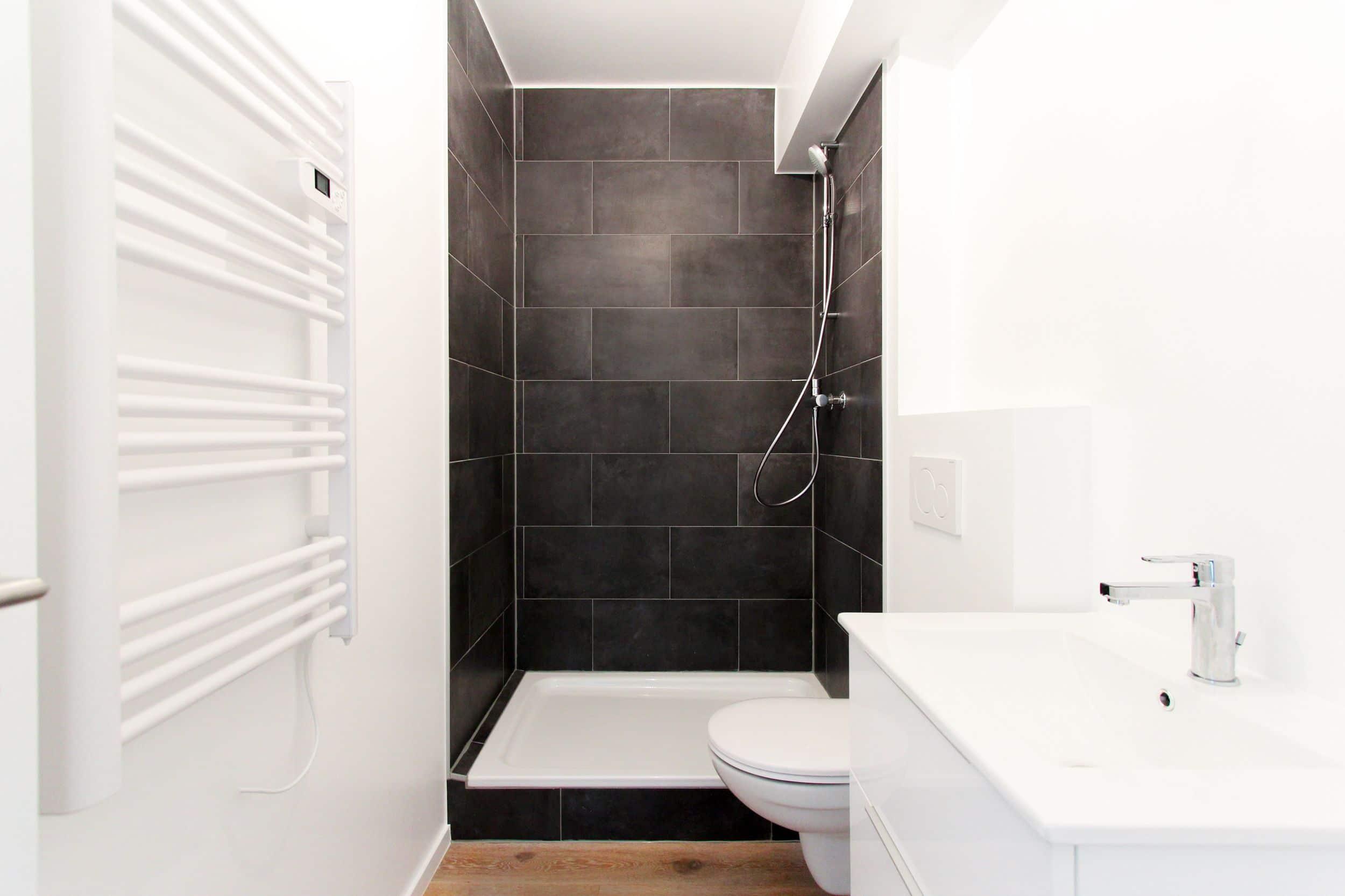 Réalisation agrandissement salle de bain